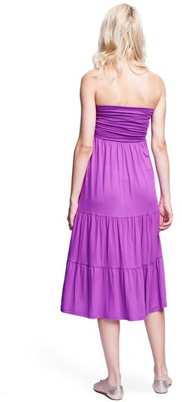 Maternal America Women's Convertible Strapless Maternity Dress