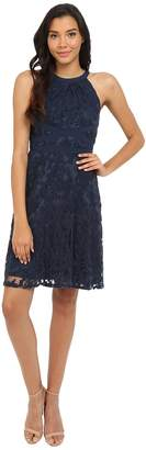 Adrianna Papell Filigree Lace Fit Flare Dress Women's Dress