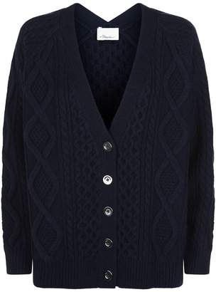 3.1 Phillip Lim Cable Knit Cardigan