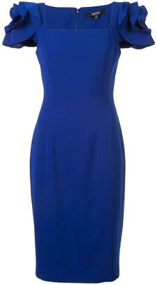 Badgley Mischka pencil fitted dress