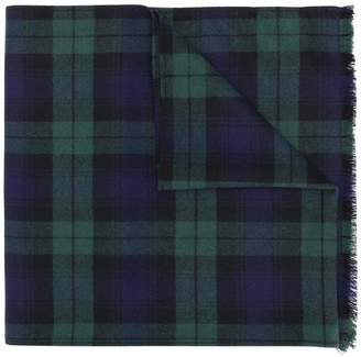 Ermanno Scervino plaid knit scarf