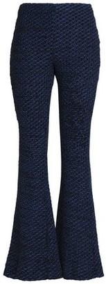 Nicholas Open-Knit Flared Pants