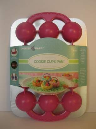 Nordicware Easter Basket Cookie Cup Pan - Makes 12 Cookie Cups by