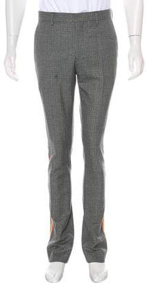 Calvin Klein Houndstooth Wool Pants