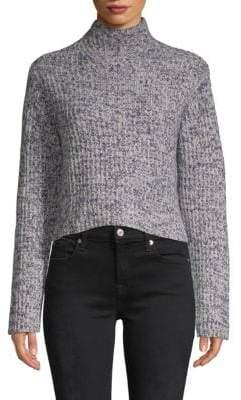Lassell Hi-Low Mockneck Cashmere Sweater