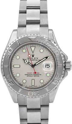 Rolex Pre-Owned Men's 40mm Yacht-Master Bracelet Watch w/ Platinum Bezel