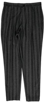 TOMORROWLAND Striped Flat Front Dress Pants w/ Tags