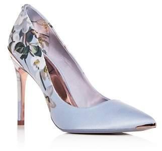 Ted Baker Women's Izbelip Floral Pointed-Toe Pumps