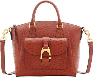 Dooney & Bourke Ostrich Naomi Satchel