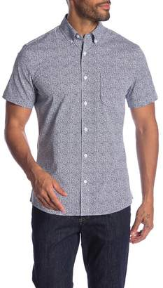 1901 Short Sleeve Button Down Slim Fit Shirt