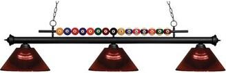 Pool' Red Barrel Studio Chapa 3 Pool Table Light Pendant Red Barrel Studio