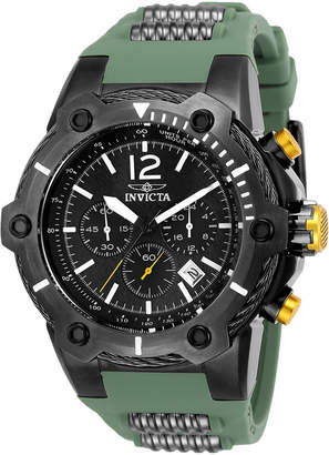 Invicta 25471 Gunmetal & Green Bolt Watch