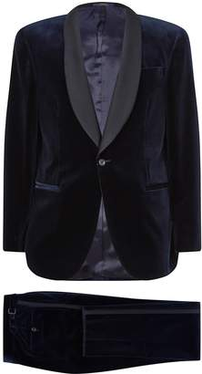 Polo Ralph Lauren Velvet Lapel Wool Suit