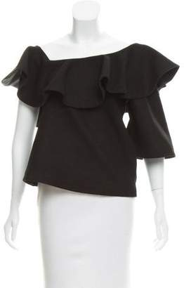 Paper London Wool Off-The-Shoulder Top
