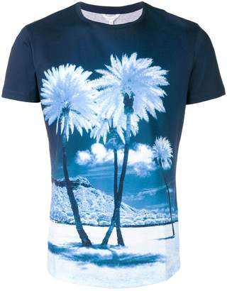Orlebar Brown palm tree printed T-shirt
