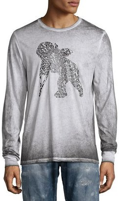 PRPS Faded Cherub Logo Long-Sleeve T-Shirt $175 thestylecure.com