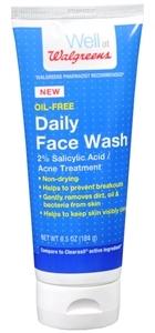 Walgreens Face Wash