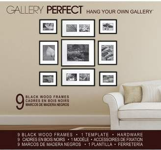 Three Posts Boulware 9 Piece Wood Picture Frame Set