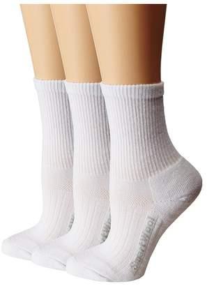 Smartwool Walk Light Mini 3-Pack Quarter Length Socks Shoes