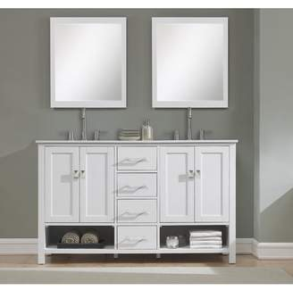 "Rosecliff Heights Pinedale 60"" Double Bathroom Vanity Set Base"