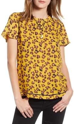 Scotch & Soda Leopard Print Top