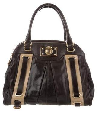Marc Jacobs Grained Leather Tote gold Grained Leather Tote