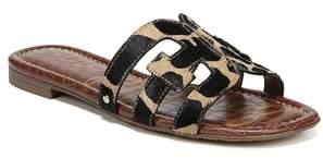 Sam Edelman Bay Genuine Calf Hair Slide Sandal