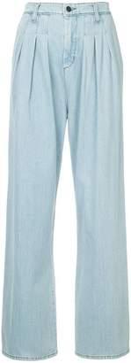 Strateas Carlucci pleated denim jeans