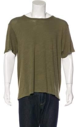 Rag & Bone Solid Woven T-shirt