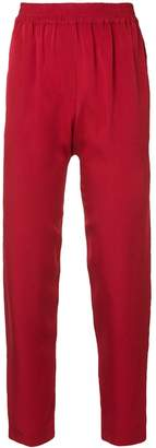 LAYEUR tapered trousers