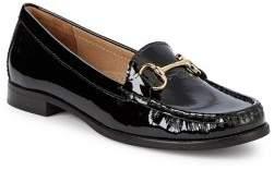 Carvela Click Patent Leather Bit Loafers