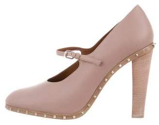 Valentino Rockstud Mary Jane Pumps w/ Tags
