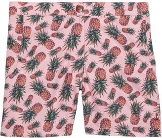 Banana Republic Retromarine | Pineapple Print Swim Short