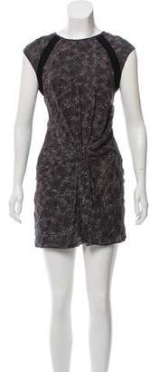 IRO Animal Print Mini Dress