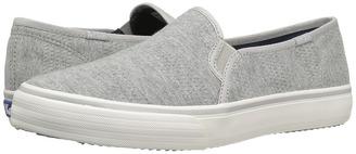 Keds - Double Decker Textured Jersey Women's Slip on Shoes $55 thestylecure.com