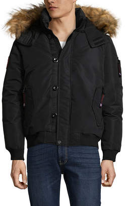CANADA WEATHER GEAR Canada Weather Gear Woven Bomber Jacket