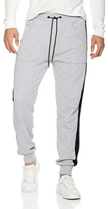 Rebel Canyon Young Men's Colored Blocked Jogger With Side Stripe Panels