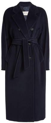 Max Mara Madame Virgin Wool Coat with Cashmere