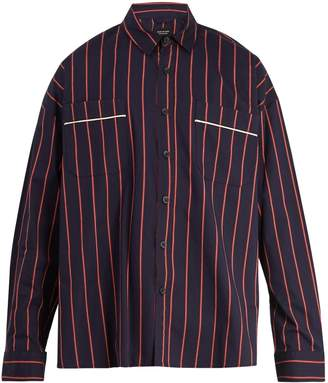 Fear Of God Oversized pinstripe cotton shirt