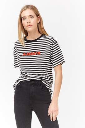 1f6c8d85 Red And White Striped Top - ShopStyle Canada