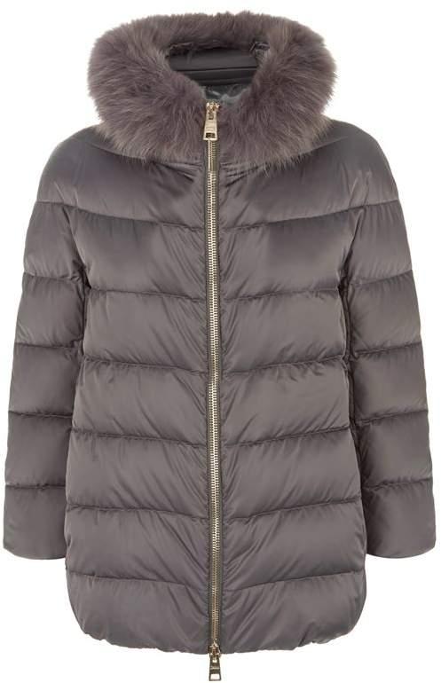Fur Trim Padded Jacket