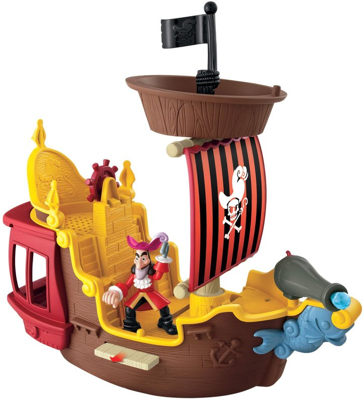 Fisher-Price Jake & the Never Land Pirates Hook's Jolly Roger Pirate Ship