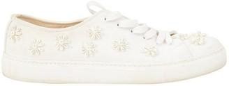 Simone Rocha White Cloth Trainers