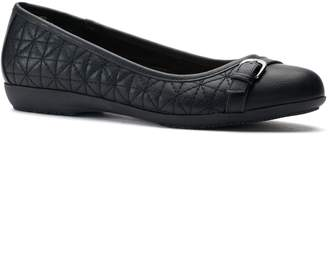 Croft & Barrow Women's Ortholite Quilted Ballet Flats