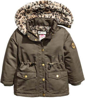 H&M Parka with Hood - Green