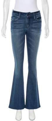 Black Orchid Mid-Rise Wide-Leg Jeans