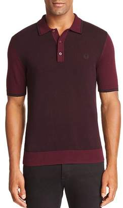 Fred Perry Textured Slim Fit Polo Shirt