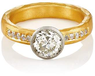 Malcolm Betts Women's Round-Faced Ring