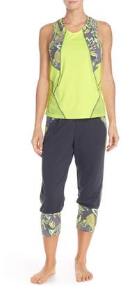 Maaji Blazing Teal Yoga Jogger $72 thestylecure.com