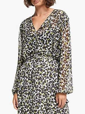 Jo-Jo AND/OR Jojo Abstract Animal Print Blouse, Multi
